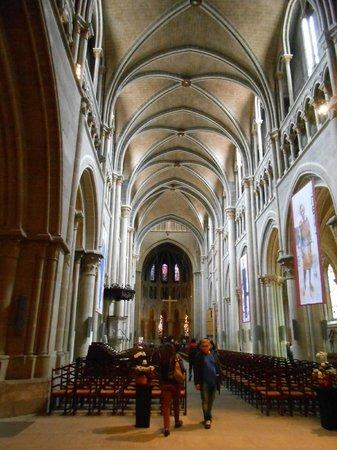 Cathédrale de Lausanne : Intérieur de la Cathédrale