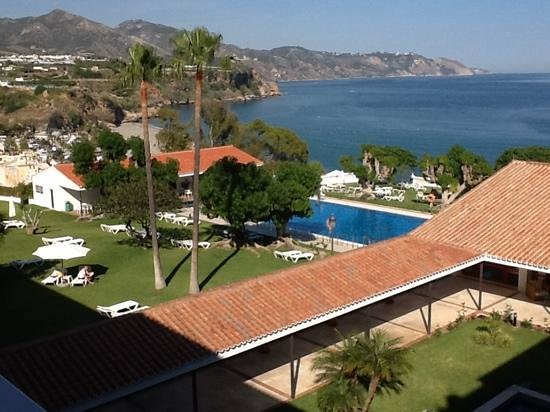 Parador de Nerja: view from room 303