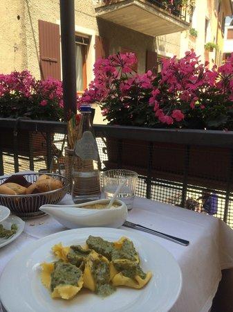 Ristorante al Gondoliere: Pesto di pistacchi!!!