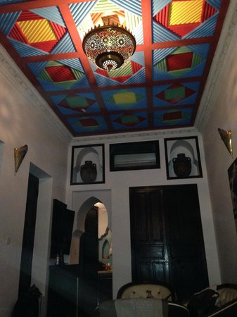 Riad Tamarrakecht : Really nice rooms, with lovely ceilings