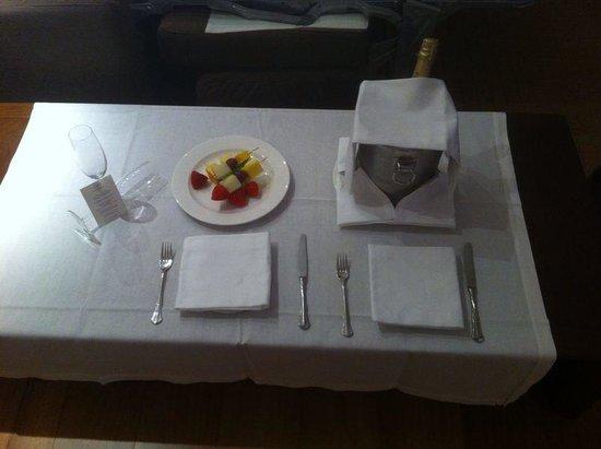Insotel Fenicia Prestige Suites & Spa: Birthday gift