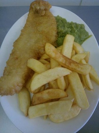Lindale Cafe: fresh fleetwood fish