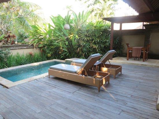 The Ubud Village Resort & Spa: Unser Pool