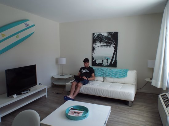 The Aqua Hotel: muy comodo