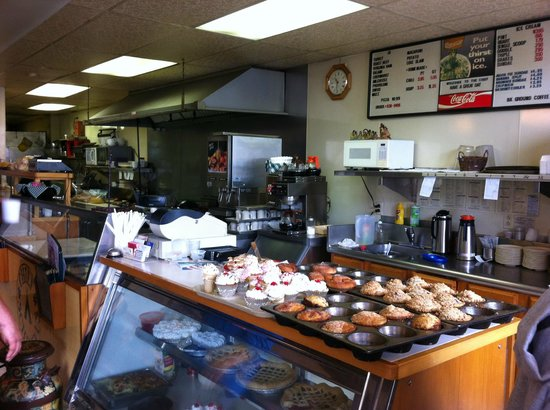 Chief Schenevus: The kitchen and bakery counter