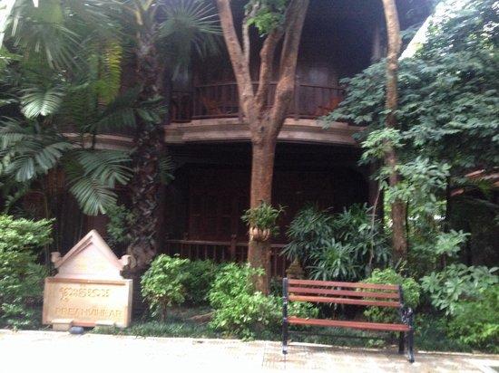 Sokhalay Angkor Villa Resort : Beautiful sanctuary just steps away from the deliciously refreshing pool.