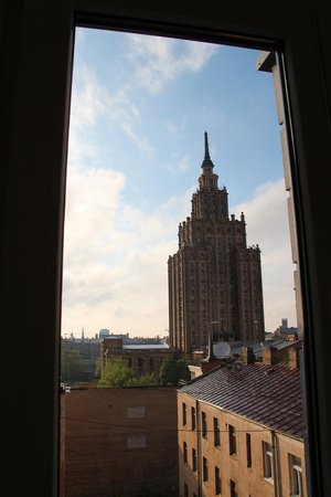 Hanza Hotel : View from the hotel
