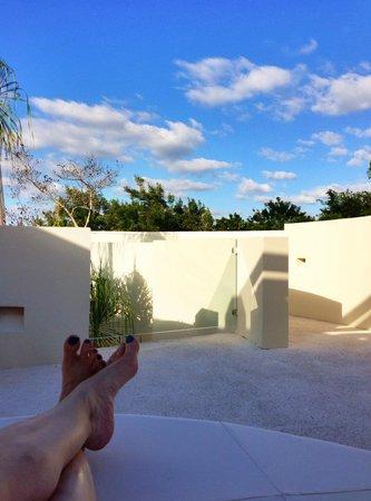 Rosewood Mayakoba : Rooftop deck