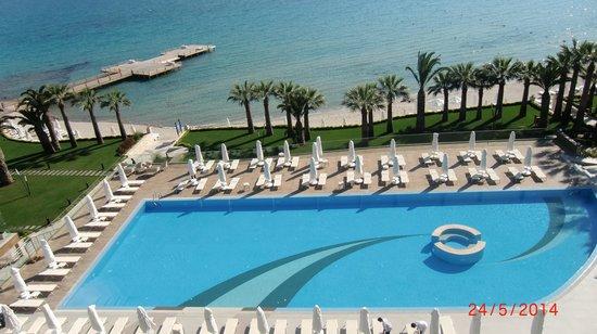 Boyalik Beach Hotel & Spa Cesme: Vista dalla camera