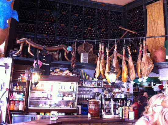 Bar Alfalfa: Il bar all'interno