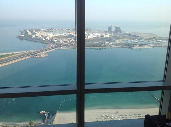 The St. Regis Abu Dhabi: Stunning sea view rooms