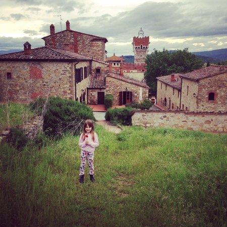Tenuta di Lupinari: Veduta del Borgo