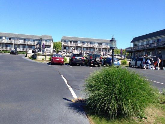 Hartman's Briney Breezes Motel: Entrance to hartman's