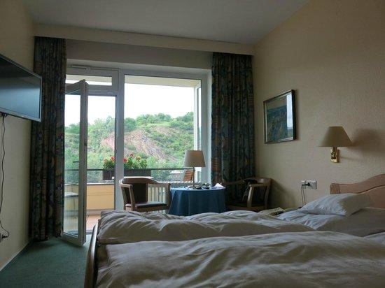 Baudobriga Rheinhotel: Chambre avec balcon
