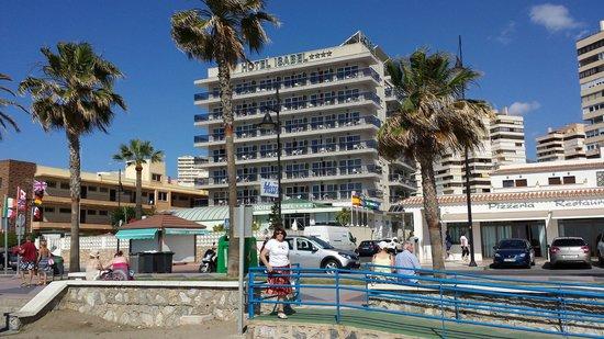 Hotel Isabel: Desde la playa