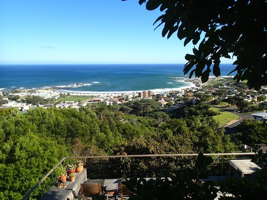 Boutique @ 10: View of Camps Bay from the deck