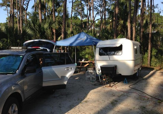 St. Joseph Peninsula State Park: Campsite