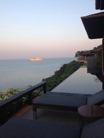 Sri Panwa Phuket Luxury Pool Villa Hotel: View from villa not facing the sunset
