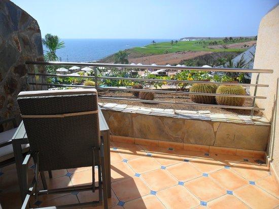 H10 Playa Meloneras Palace: Balcon chambre 712