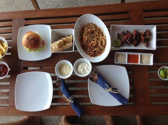 Sri Panwa Phuket Luxury Pool Villa Hotel: Room service. Good food.