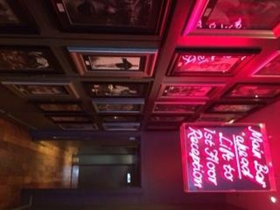Angels Share Hotel : bar