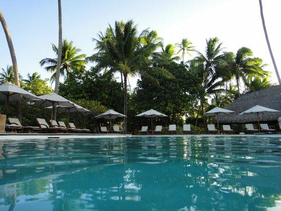 Le Taha'a Island Resort & Spa : Piscina