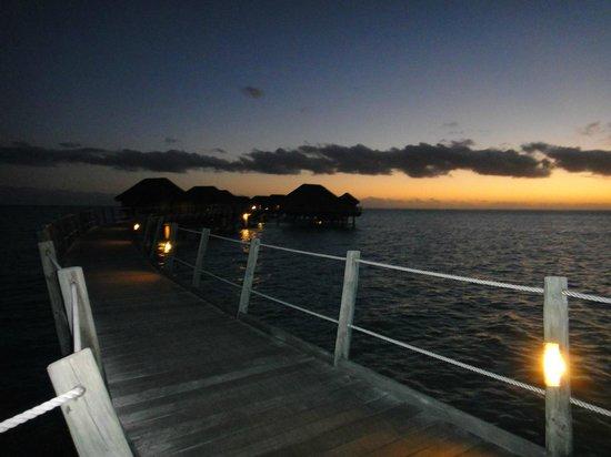 Le Taha'a Island Resort & Spa : Por do Sol