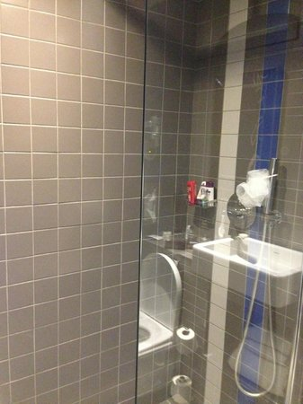 Hôtel Mademoiselle : Shower room