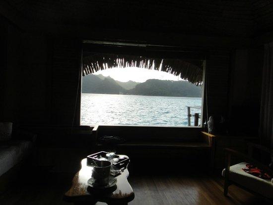 Le Taha'a Island Resort & Spa : Nascer do Sol