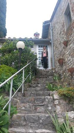 Casale Fontibucci: Leaving our room!