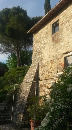 Casale Fontibucci: Outside the room