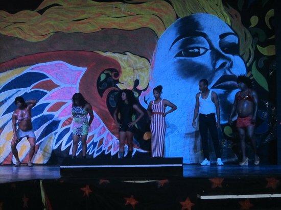 Vista Sol Punta Cana : Equipo de animación en el show nocturno