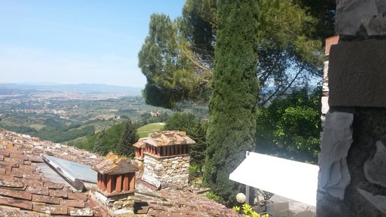 Casale Fontibucci: View from our room