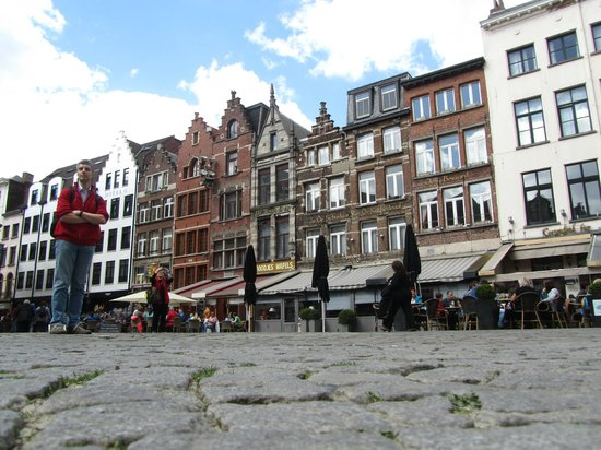Grote Markt van Antwerpen : Красивые домики