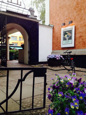 Bla Porten : Eingang