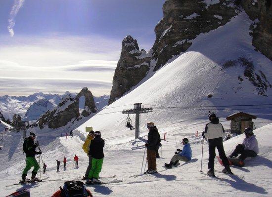 Club Med Val d'Isere : Pedra furada