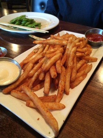 Aji Japanese Bistro : Togarashi fries are not to be missed!