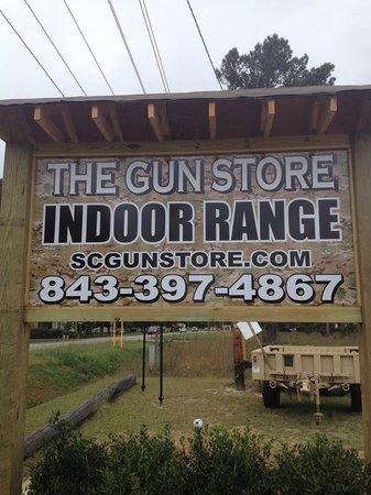 The Gun Store Indoor Range: Mon-Sat 9AM-8PM