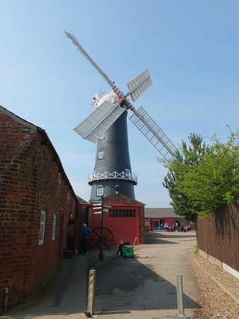 Skidby Windmill : Skidby - the windmill