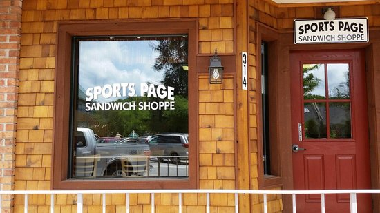 Sports Page Sandwich Shop : Street view