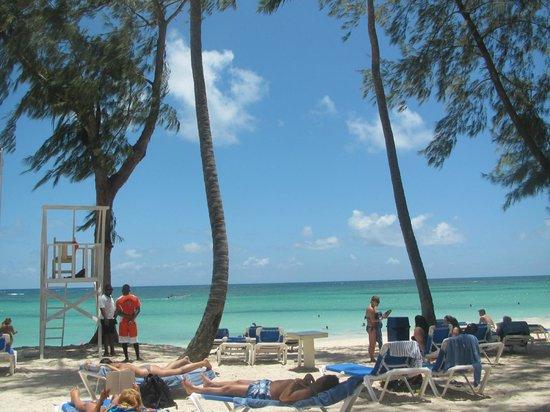 Vista Sol Punta Cana : Playa con guardavida