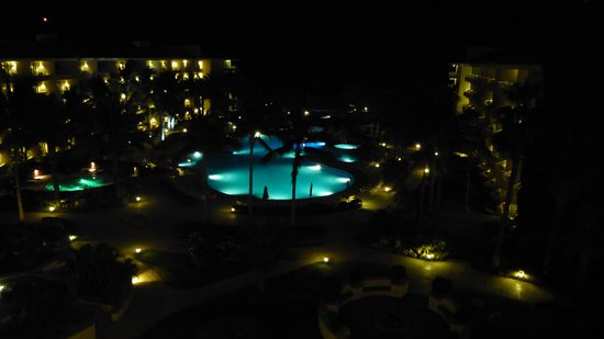 Barceló Gran Faro Los Cabos: View from our room at night