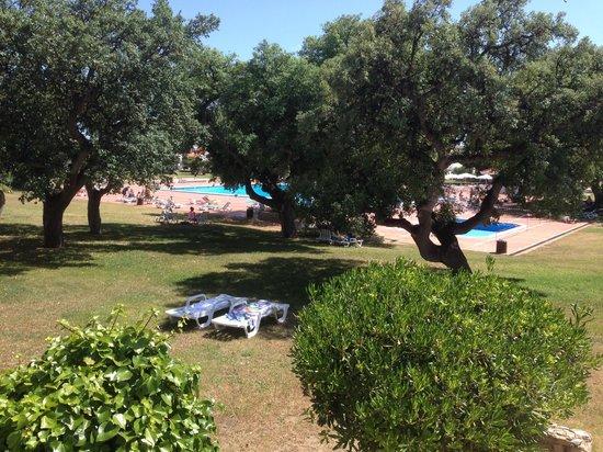 Vilanova Resort: uitzicht op het zwembad