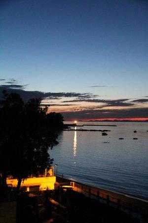 Hotel Ambasciatori: Вид с балкона