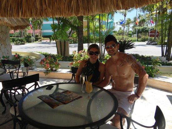 Grand Palladium Punta Cana Resort & Spa: a piñacolada é excelente!