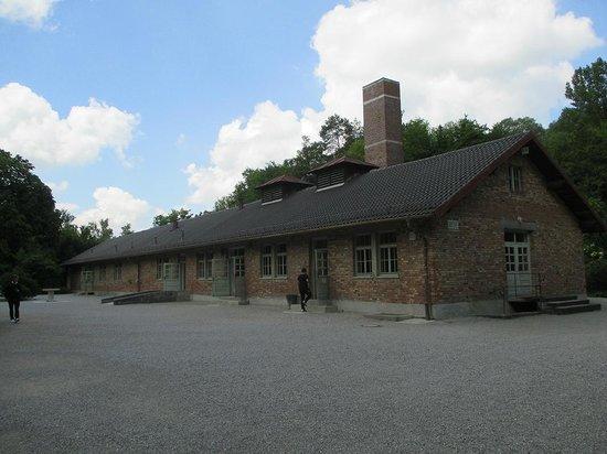In Their Shoes Dachau Memorial Tours: krematorium