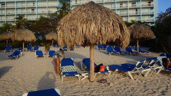 Hilton Curacao: Praia Hilton
