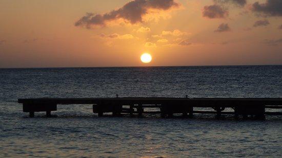 Hilton Curacao: Por do Sol Hilton