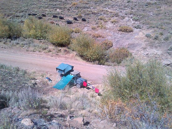South Africa 4x4: Middle-of-nowhere camp !!