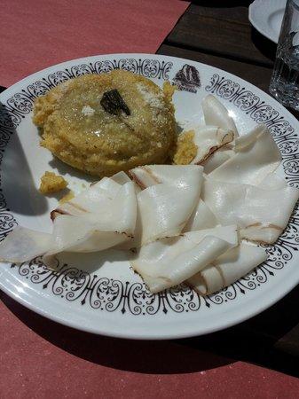 Ristorante Cascata Nardis: un piccolo antipasto :Q